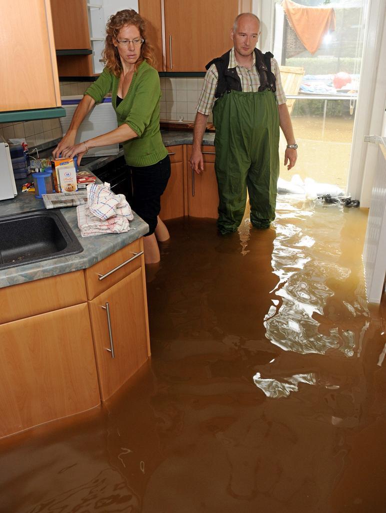 затопили соседи что делать