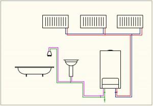 газовая котельная для многоквартирного дома