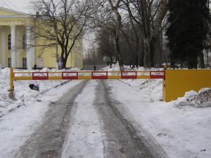 упрощенный порядок установки шлагбаумов на придомовых территориях